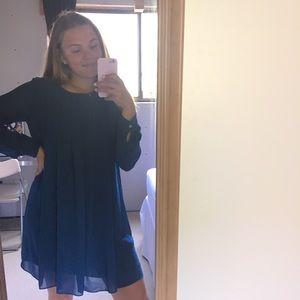 Dark Teal Long sleeve dress